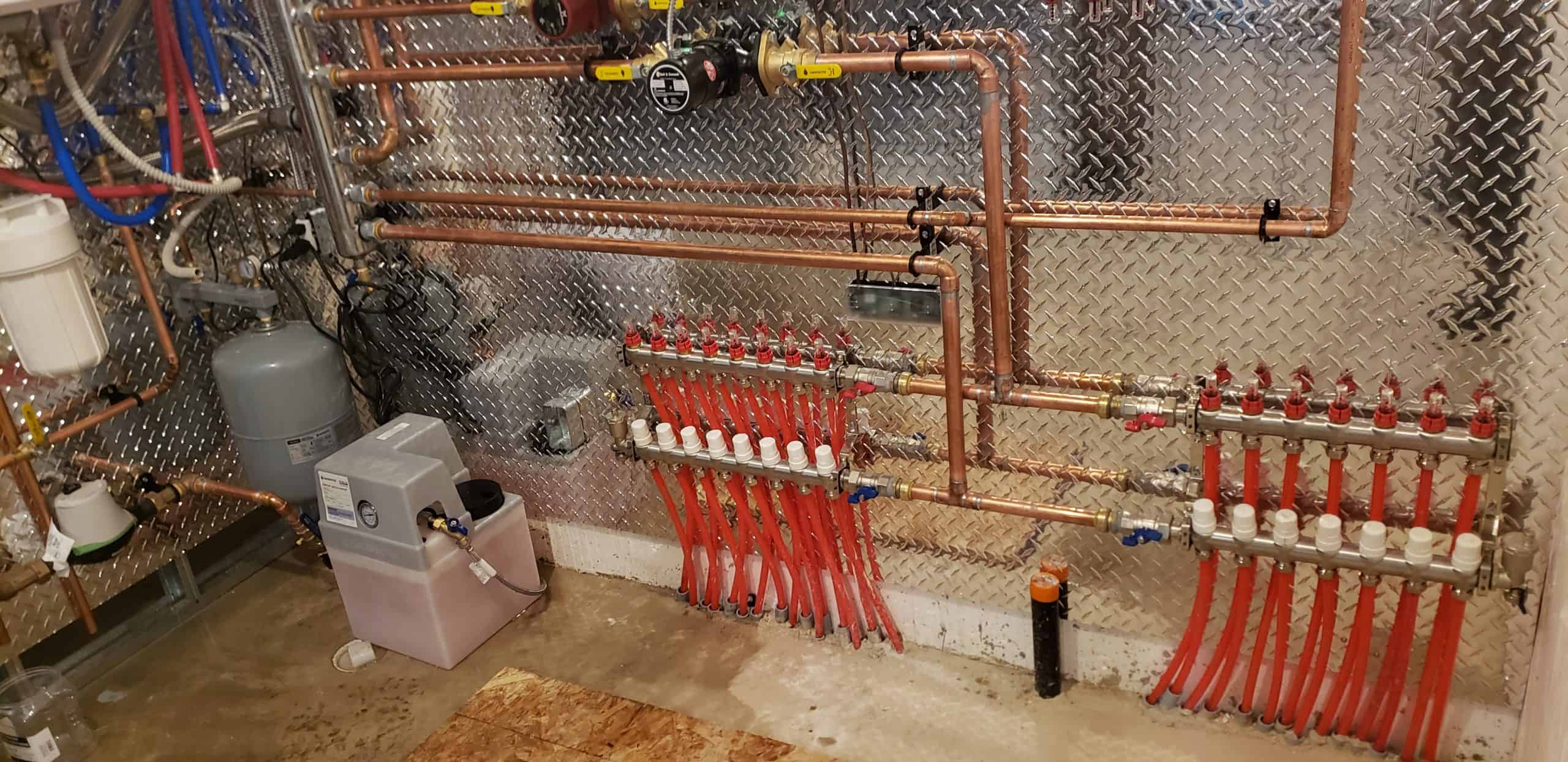 Manifolds and pumps are connected 2