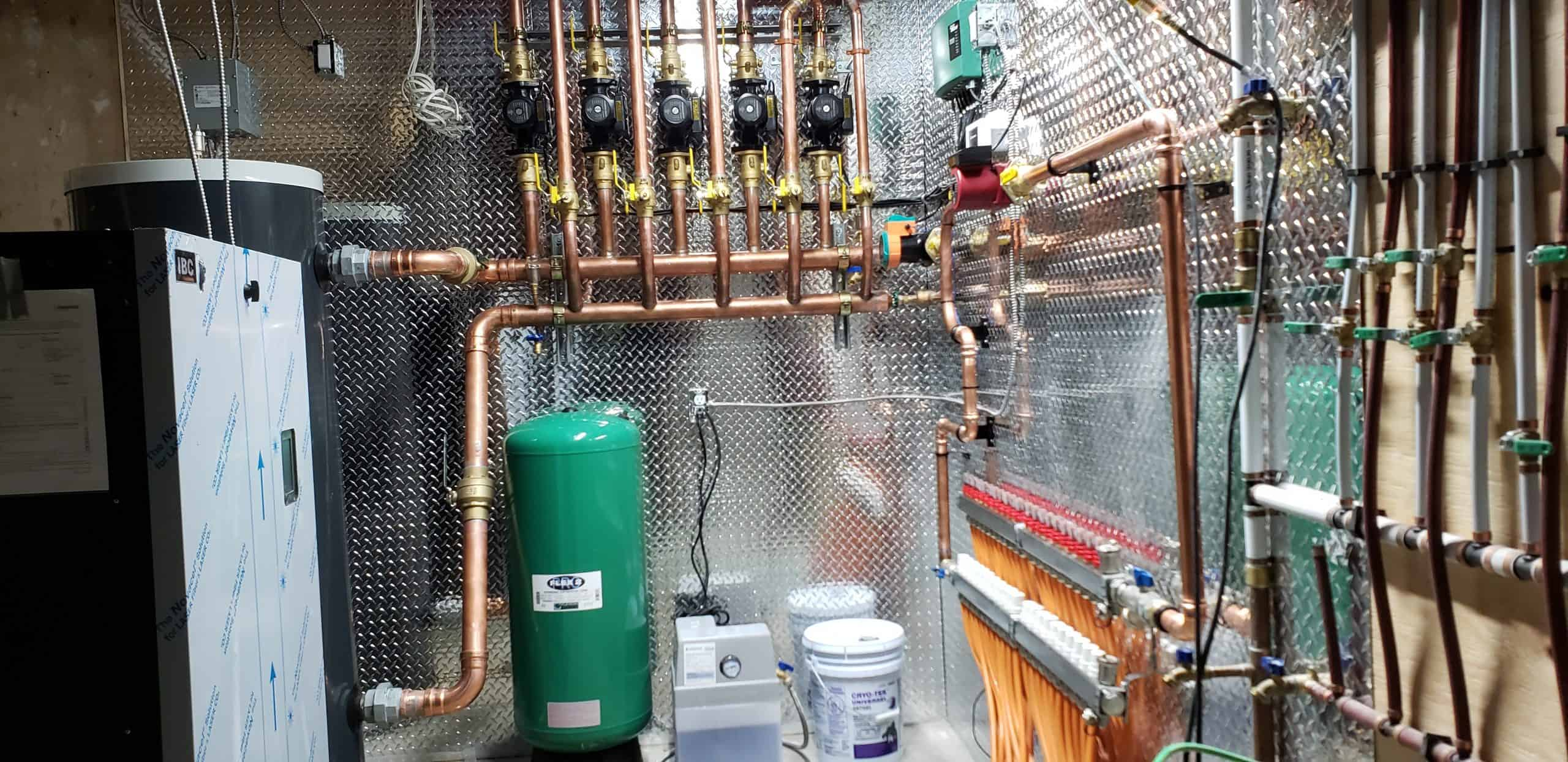 Boiler room completed