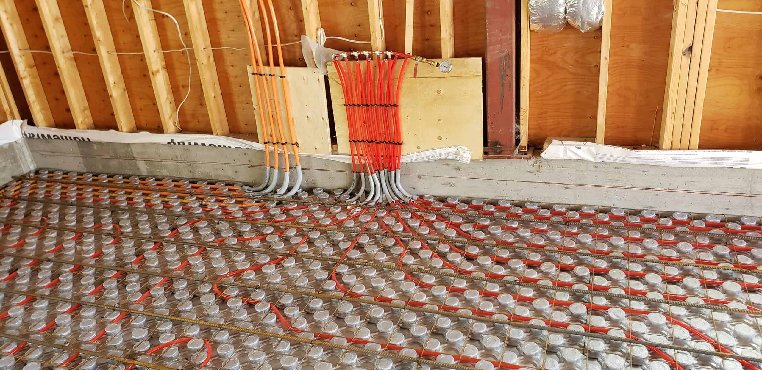garage pipe and insulation